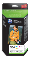 Photo and OfficeJet Value Packs