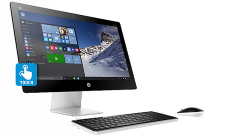 HP All-in-One Computer Pavilion 23-q010